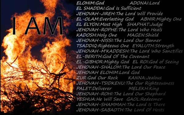 Image result for Names of God I AM